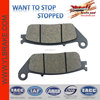 motorcycle brake pad for kymco spare parts;brake pad for kawasaki z750/for honda hornet 600/for cbR 1000;SCOOTER brake pad