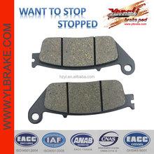 motorcycle brake pad for kymco spare parts;brake pad for kawasaki z750/for honda hornet 600/for cbR 1000;SCOOTER brake pad