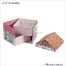 Exclusive Unique 2 ply christmas gift cardboard boxes/ two-layer christmas gift cardboard b for Christmas & Valentines' day gift