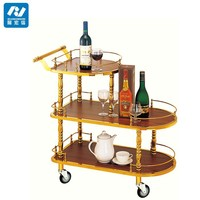 liquor service trolley/different type of table service