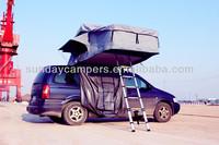 Road trip car roof top tent