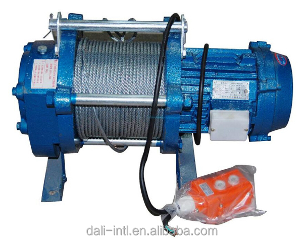 Small electric winch 220v buy electric winch small for Motors used in cranes