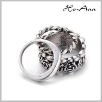 Top Sale!! Rose Gold Painting Elegant yankees ring