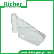 HDPE/LDPE plastic flat bags on block cheap om sale