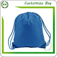 Hongway colorful royal color drawstring bag ready goods, cotton/ nylon/ polyester/ non woven material