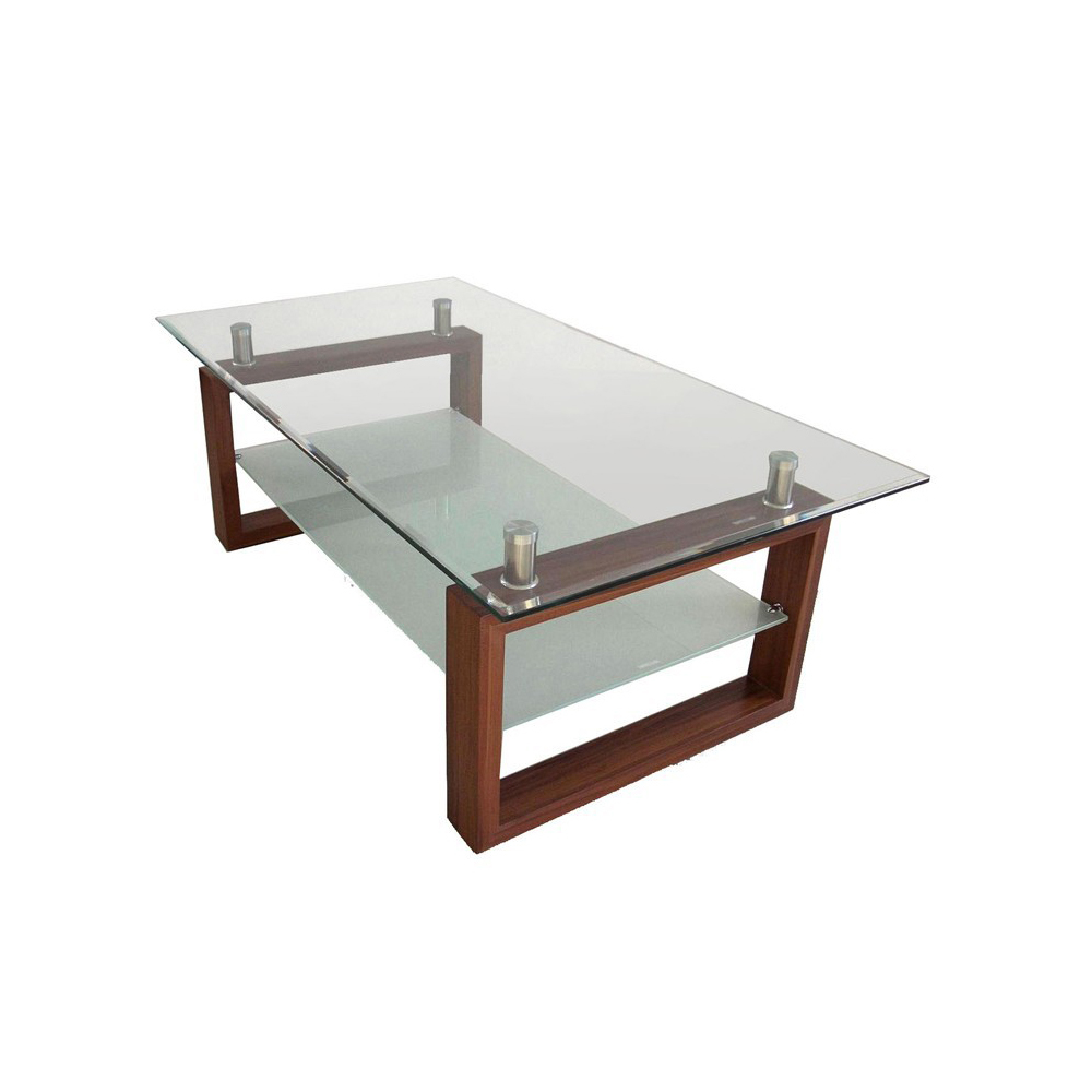 Silk screen tempered glass cheap restaurant wholesale for Cheap wooden coffee tables