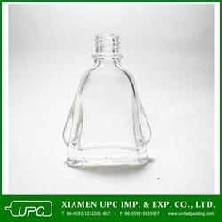 7ml clear flat glass bottle for mint oil