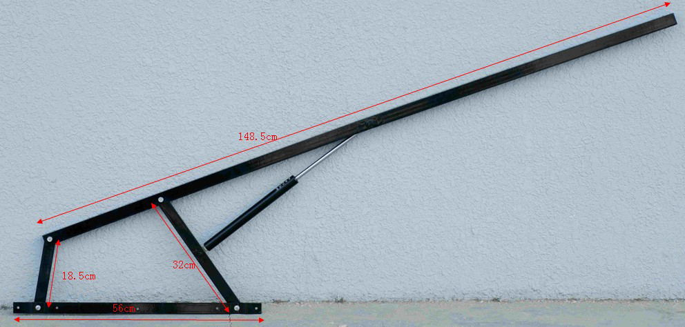 Spring Lift Mechanism : High quality bed lift mechanism for storage frame