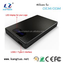 External Hdd Enclosure USB 2.0/3.0/3.1 SATA HDD/HD Enclosure/Case