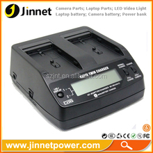 Dual Pro Battery Chargers for Sony NP-F NP-F770 550 970 960