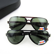 A large number of triangle retro sunglasses