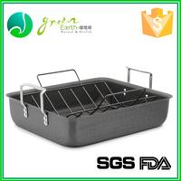 wholesale custom microwave aluminum disposable fish shaped adjustable hamburger bun baking pan