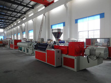 Double screw extruder