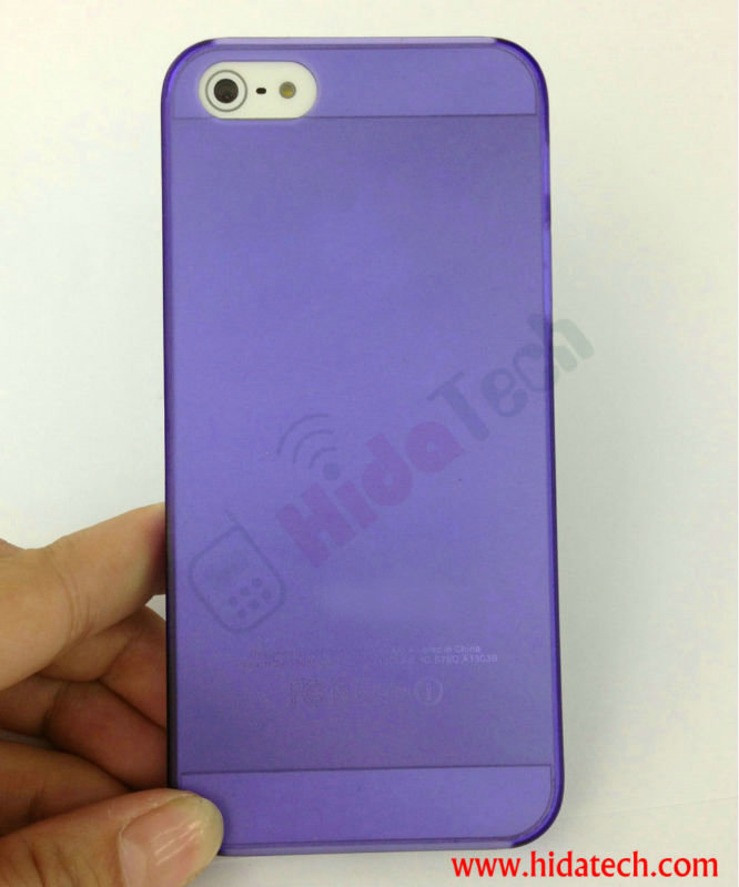 0.3mm Ultra Thin Cell Phone Case for iPhone 5 Case
