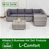 Factory Direct Sales All Kinds of Patio Furniture Synthetic Rattan Sofa