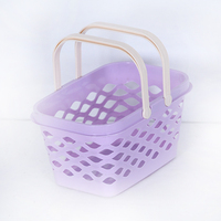Plastic Shower Basket with small handle