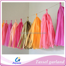 Exports the European and American market paper tassel garlands festival holiday party supplies tassel garlands