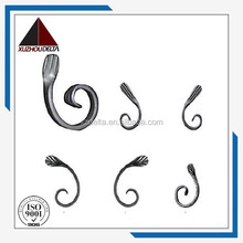 Decorative Wrought iron scrolls for fence made in china