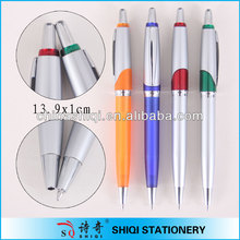 Cool up barrel metal clip ball pen promotion stationery