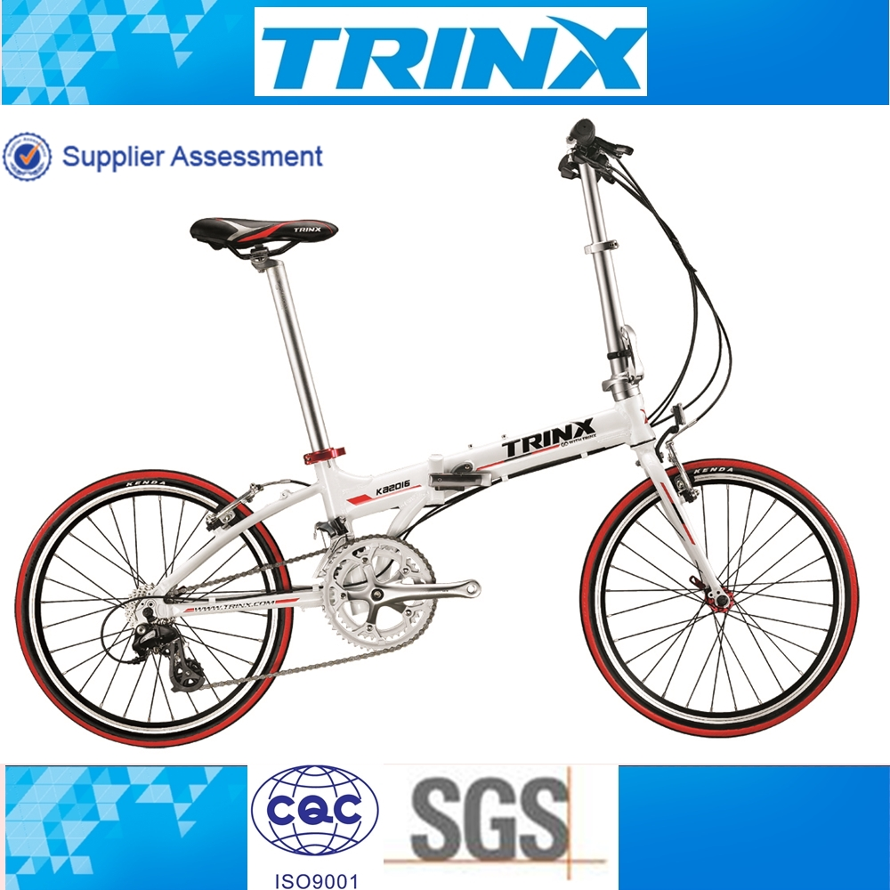 Trinx high end alloy folding bike 20 inch 16 speed 2015 hot sale