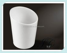 การออกแบบใหม่เอียงถ้วยกาแฟเมลามีน/ถ้วยชาสำหรับการค้าส่ง