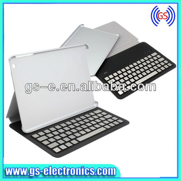 Grand stock pour amovible sans fil bluetooth clavier housse pour ipad mini