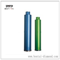 long life-span core drill bit for reinforced concrete drilling