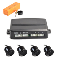 Top rate BIBI alarm advanced parking guidance system with 4 sensors