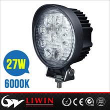New arrival 27w lw led work light auto 12v led driving lights for atv utv suv auto lamp
