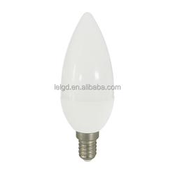 cheap candle glitter lamp 3w e14 daylight 230lm led zhongtian
