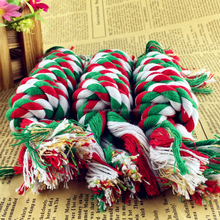 Wholesale Multicolor Cotton Dog Ropes Dog Chew Ropes PT127
