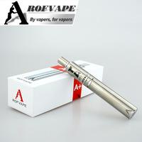 Summer latest! 2015 consumer electronics Rofvape A Plus starter kit 3000mah wax vaporizer hookah pen mods sub ohm cloud vapor