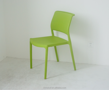 Moldes de inyección de plástico sin brazos de plástico verde silla para hotsale PP-157A2