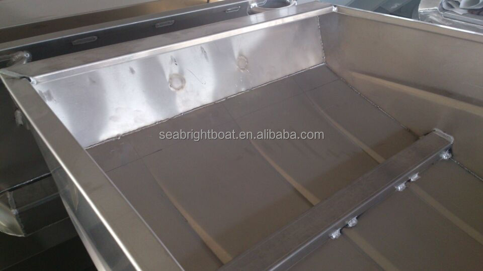Aluminum Boat Benches : Oem ft to welded aluminum jon boat