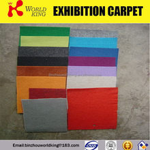 New most popular non woven exhibition carpet floor rugs