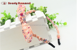 South Korean children rabbit ears hoop cloth baby girl hair cute headgear accessories wholesale new foreign trade
