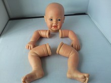 doll making supplies doll kits of full vinyl body/reborn baby doll kits/silicone reborn baby doll kit for sale