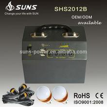 Soles energía normal especificación certificación CE y ROHS mini kit solar 20 W