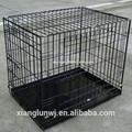 foldablel pet gaiola de ferro grande gaiola do cão