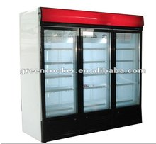 commercial upright display freezer Australia OEM model