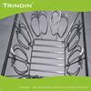chicken wire storage basket Metal chrome fruit basket