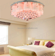 Modern newest crystal ceiling lamp for modern hotel project