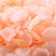 1000pcs Artificial Silk Rose Flower Petals Wedding Supplies Favor Party Decoration