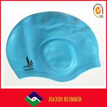 customized silicone rubber waterproof swimming diving cap swimming diving hat