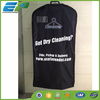 Fashion nylon 210D suit cover travel garment bag with golden zipper puller