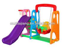 plastic swings and slides