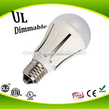 180 Degree Beam Spread CE RoHs listed Residential LED Light Bulbs 7W E27 Base