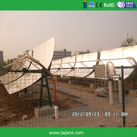 Parabolic Trough Solar Heating Collector for Industrial and Residential Buildings