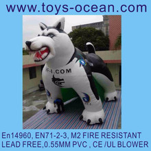 advertising inflatable dog/inflatable dog decoration/outdoor dog decoration