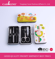 Lovely nail clipper case, travel manicure case, grooming kit